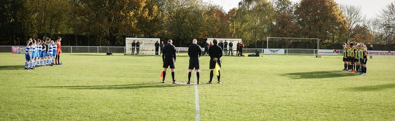 Crawley Wasps LFC (6) vs QPR Girls (0) on November 11, 2018 at Oakwood Football Ground, Tinsley Lane, Crawley, Crawley. Photo: Ben Davidson, www.bendavidsonphotography.com (181111-0079)