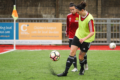 Crawley Wasps LFC (2) vs Chichester City LFC (0) on December 09, 2018 at Worthing FC, Woodside Road, Worthing, Worthing. Photo: Ben Davidson, www.bendavidsonphotography.com (181209-0126)