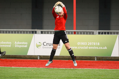 Crawley Wasps LFC (2) vs Chichester City LFC (0) on December 09, 2018 at Worthing FC, Woodside Road, Worthing, Worthing. Photo: Ben Davidson, www.bendavidsonphotography.com (181209-0087)