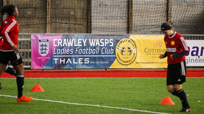 Crawley Wasps LFC (2) vs Chichester City LFC (0) on December 09, 2018 at Worthing FC, Woodside Road, Worthing, Worthing. Photo: Ben Davidson, www.bendavidsonphotography.com (181209-0070)