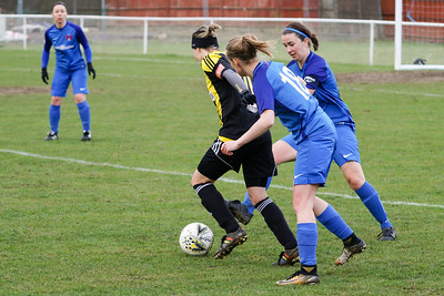 Crawley Wasps Ladies (4) vs Leyton Orient WFC (1) on January 27, 2019 at Oakwood Football Club, Tinsley Lane, Crawley RH10 8AT, Crawley. Photo: Ben Davidson, www.bendavidsonphotography.com - 1901270151