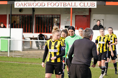 Crawley Wasps Ladies (4) vs Leyton Orient WFC (1) on January 27, 2019 at Oakwood Football Club, Tinsley Lane, Crawley RH10 8AT, Crawley. Photo: Ben Davidson, www.bendavidsonphotography.com - 1901270115