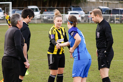 Crawley Wasps Ladies (4) vs Leyton Orient WFC (1) on January 27, 2019 at Oakwood Football Club, Tinsley Lane, Crawley RH10 8AT, Crawley. Photo: Ben Davidson, www.bendavidsonphotography.com - 1901270140