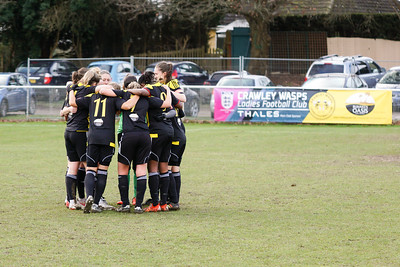 Crawley Wasps Ladies (4) vs Leyton Orient WFC (1) on January 27, 2019 at Oakwood Football Club, Tinsley Lane, Crawley RH10 8AT, Crawley. Photo: Ben Davidson, www.bendavidsonphotography.com - 1901270132
