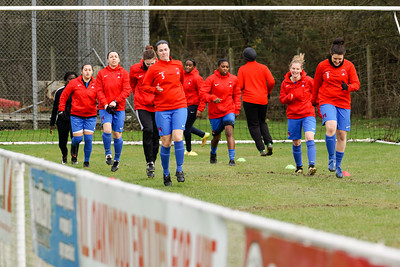 Crawley Wasps Ladies (4) vs Leyton Orient WFC (1) on January 27, 2019 at Oakwood Football Club, Tinsley Lane, Crawley RH10 8AT, Crawley. Photo: Ben Davidson, www.bendavidsonphotography.com - 1901270076
