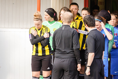 Crawley Wasps Ladies (4) vs Leyton Orient WFC (1) on January 27, 2019 at Oakwood Football Club, Tinsley Lane, Crawley RH10 8AT, Crawley. Photo: Ben Davidson, www.bendavidsonphotography.com - 1901270109
