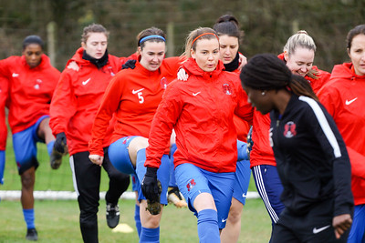 Crawley Wasps Ladies (4) vs Leyton Orient WFC (1) on January 27, 2019 at Oakwood Football Club, Tinsley Lane, Crawley RH10 8AT, Crawley. Photo: Ben Davidson, www.bendavidsonphotography.com - 1901270085