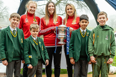 Crawley Wasps LFC FA Cup Tour on January 25, 2019 at , Crawley. Photo: Ben Davidson, www.bendavidsonphotography.com (190125-0090)
