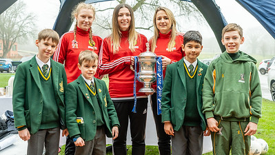 Crawley Wasps LFC FA Cup Tour on January 25, 2019 at , Crawley. Photo: Ben Davidson, www.bendavidsonphotography.com (190125-0094)