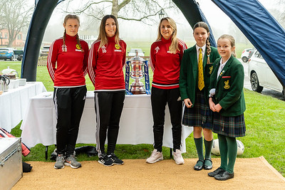 Crawley Wasps LFC FA Cup Tour on January 25, 2019 at , Crawley. Photo: Ben Davidson, www.bendavidsonphotography.com (190125-0017)