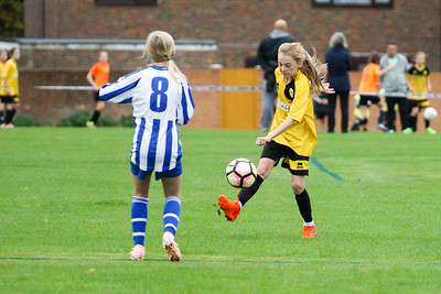 Crawley Wasps U12 (1) vs Horsham Sparrows U12 (1) on October 14, 2018 at Ewhurst Plying Field, Crawley, Crawley. Photo: Ben Davidson, www.bendavidsonphotography.com (181014-359)