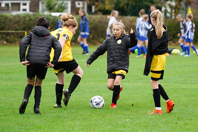 Crawley Wasps U12 (1) vs Horsham Sparrows U12 (1) on October 14, 2018 at Ewhurst Plying Field, Crawley, Crawley. Photo: Ben Davidson, www.bendavidsonphotography.com (181014-320)