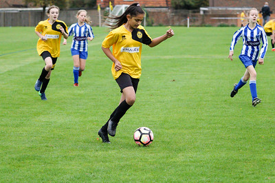 Crawley Wasps U12 (1) vs Horsham Sparrows U12 (1) on October 14, 2018 at Ewhurst Plying Field, Crawley, Crawley. Photo: Ben Davidson, www.bendavidsonphotography.com (181014-356)