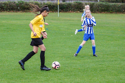 Crawley Wasps U12 (1) vs Horsham Sparrows U12 (1) on October 14, 2018 at Ewhurst Plying Field, Crawley, Crawley. Photo: Ben Davidson, www.bendavidsonphotography.com (181014-340)