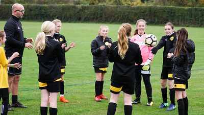 Crawley Wasps U12 (1) vs Horsham Sparrows U12 (1) on October 14, 2018 at Ewhurst Plying Field, Crawley, Crawley. Photo: Ben Davidson, www.bendavidsonphotography.com (181014-293)