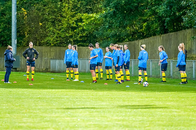 1909290023 -  Crawley Wasps Ladies Football Club  Oxford United WFC on September 29, 2019 at East Court, College Lane, RH19 3LS, East Grinstead. Photo: Ben Davidson, www.bendavidsonphotography.com