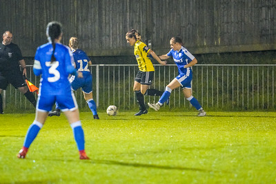 1910230077 -  Crawley Wasps 2 v 2 Gillingham Ladies FC on October 23, 2019 at East Grinstead Town FC, East Court, College Lane, RH19 3LS, East Grinstead. Photo: Ben Davidson, www.bendavidsonphotography.com