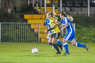 1910230076 -  Crawley Wasps 2 v 2 Gillingham Ladies FC on October 23, 2019 at East Grinstead Town FC, East Court, College Lane, RH19 3LS, East Grinstead. Photo: Ben Davidson, www.bendavidsonphotography.com