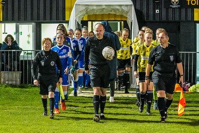 1910230049 -  Crawley Wasps 2 v 2 Gillingham Ladies FC on October 23, 2019 at East Grinstead Town FC, East Court, College Lane, RH19 3LS, East Grinstead. Photo: Ben Davidson, www.bendavidsonphotography.com