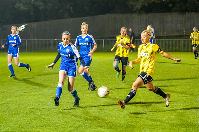 1910230081 -  Crawley Wasps 2 v 2 Gillingham Ladies FC on October 23, 2019 at East Grinstead Town FC, East Court, College Lane, RH19 3LS, East Grinstead. Photo: Ben Davidson, www.bendavidsonphotography.com