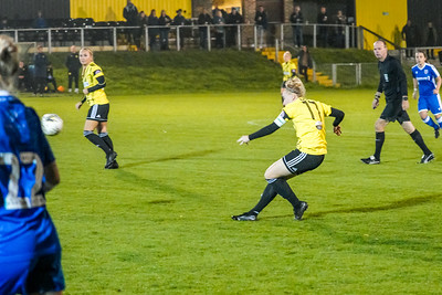 1910230074 -  Crawley Wasps 2 v 2 Gillingham Ladies FC on October 23, 2019 at East Grinstead Town FC, East Court, College Lane, RH19 3LS, East Grinstead. Photo: Ben Davidson, www.bendavidsonphotography.com