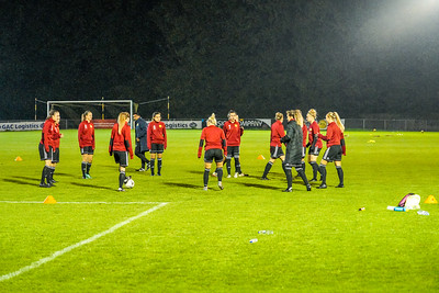 1910230001 -  Crawley Wasps 2 v 2 Gillingham Ladies FC on October 23, 2019 at East Grinstead Town FC, East Court, College Lane, RH19 3LS, East Grinstead. Photo: Ben Davidson, www.bendavidsonphotography.com