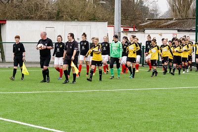 Crawley Wasps vs Jersey Ladies on March 25, 2018 at Steyning FC Football Ground, Steyning. Photo: Ben Davidson
