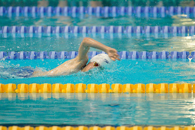 2003142373 -  Session 3 Swim London Spring Open Meet 2020 on March 14, 2020 at Aquatics Centre, Queen Elizabeth Olympic Park, E20 2ZQ, London. Photo: Ben Davidson, www.bendavidsonphotography.com
