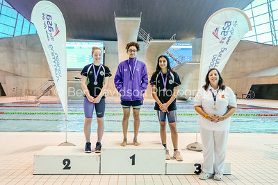 Presentation 8 1905112552 - ASA London Region London Regional Summer Championships 2019 2019 on May 11, 2019 at London Aquatics Centre, Olympic Park, London, E20 2ZQ, London. Photo: Ben Davidson, www.bendavidsonphotography.com