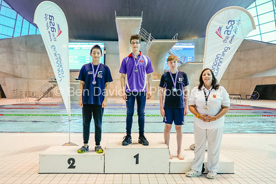 Presentation 8 1905112564 - ASA London Region London Regional Summer Championships 2019 2019 on May 11, 2019 at London Aquatics Centre, Olympic Park, London, E20 2ZQ, London. Photo: Ben Davidson, www.bendavidsonphotography.com