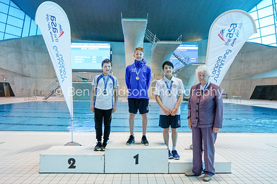 Presentation 10 1905124713 - ASA London Region London Regional Summer Championships 2019 2019 on May 12, 2019 at London Aquatics Centre, Olympic Park, London, E20 2ZQ, London. Photo: Ben Davidson, www.bendavidsonphotography.com