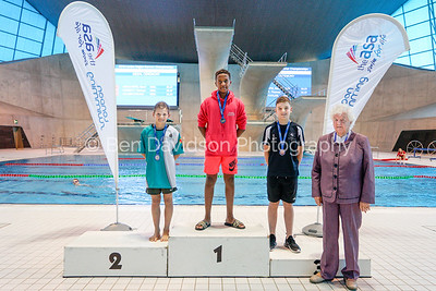 Presentation 10 1905124677 - ASA London Region London Regional Summer Championships 2019 2019 on May 12, 2019 at London Aquatics Centre, Olympic Park, London, E20 2ZQ, London. Photo: Ben Davidson, www.bendavidsonphotography.com