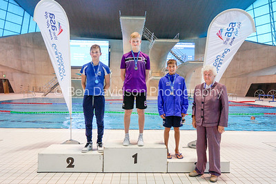 Presentation 10 1905124680 - ASA London Region London Regional Summer Championships 2019 2019 on May 12, 2019 at London Aquatics Centre, Olympic Park, London, E20 2ZQ, London. Photo: Ben Davidson, www.bendavidsonphotography.com