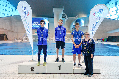 Presentation 9 1905123862 - ASA London Region London Regional Summer Championships 2019 2019 on May 12, 2019 at London Aquatics Centre, Olympic Park, London, E20 2ZQ, London. Photo: Ben Davidson, www.bendavidsonphotography.com