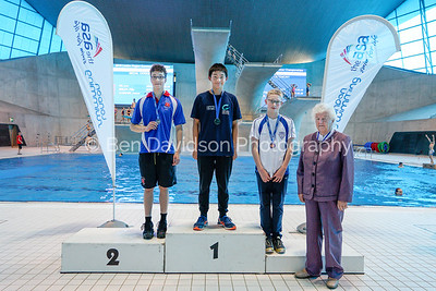 Presentation 9 1905123892 - ASA London Region London Regional Summer Championships 2019 2019 on May 12, 2019 at London Aquatics Centre, Olympic Park, London, E20 2ZQ, London. Photo: Ben Davidson, www.bendavidsonphotography.com