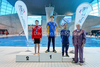 Presentation 9 1905123885 - ASA London Region London Regional Summer Championships 2019 2019 on May 12, 2019 at London Aquatics Centre, Olympic Park, London, E20 2ZQ, London. Photo: Ben Davidson, www.bendavidsonphotography.com