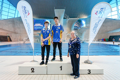 Presentation 9 1905123854 - ASA London Region London Regional Summer Championships 2019 2019 on May 12, 2019 at London Aquatics Centre, Olympic Park, London, E20 2ZQ, London. Photo: Ben Davidson, www.bendavidsonphotography.com