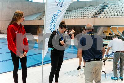 Presentation 1 1905041187 - ASA London Region London Regional Summer Championships 2019 2019 on May 04, 2019 at London Aquatics Centre, Olympic Park, London, E20 2ZQ, London. Photo: Ben Davidson, www.bendavidsonphotography.com
