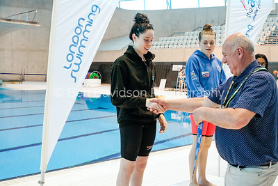 Presentation 1 1905041208 - ASA London Region London Regional Summer Championships 2019 2019 on May 04, 2019 at London Aquatics Centre, Olympic Park, London, E20 2ZQ, London. Photo: Ben Davidson, www.bendavidsonphotography.com