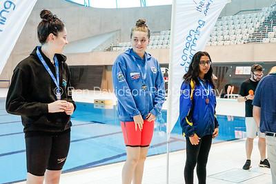 Presentation 1 1905041216 - ASA London Region London Regional Summer Championships 2019 2019 on May 04, 2019 at London Aquatics Centre, Olympic Park, London, E20 2ZQ, London. Photo: Ben Davidson, www.bendavidsonphotography.com
