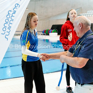 Presentation 1 1905041188 - ASA London Region London Regional Summer Championships 2019 2019 on May 04, 2019 at London Aquatics Centre, Olympic Park, London, E20 2ZQ, London. Photo: Ben Davidson, www.bendavidsonphotography.com