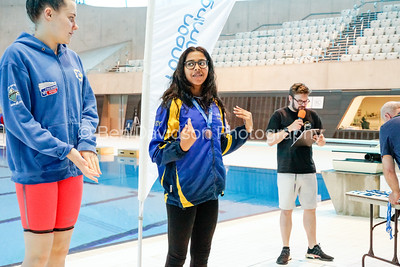 Presentation 1 1905041205 - ASA London Region London Regional Summer Championships 2019 2019 on May 04, 2019 at London Aquatics Centre, Olympic Park, London, E20 2ZQ, London. Photo: Ben Davidson, www.bendavidsonphotography.com