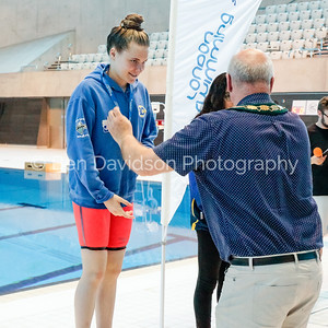 Presentation 1 1905041215 - ASA London Region London Regional Summer Championships 2019 2019 on May 04, 2019 at London Aquatics Centre, Olympic Park, London, E20 2ZQ, London. Photo: Ben Davidson, www.bendavidsonphotography.com