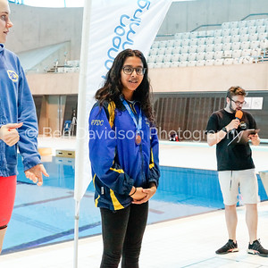 Presentation 1 1905041207 - ASA London Region London Regional Summer Championships 2019 2019 on May 04, 2019 at London Aquatics Centre, Olympic Park, London, E20 2ZQ, London. Photo: Ben Davidson, www.bendavidsonphotography.com