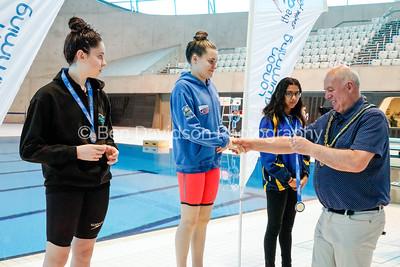 Presentation 1 1905041213 - ASA London Region London Regional Summer Championships 2019 2019 on May 04, 2019 at London Aquatics Centre, Olympic Park, London, E20 2ZQ, London. Photo: Ben Davidson, www.bendavidsonphotography.com