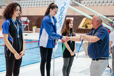 Presentation 2 1905044018 - ASA London Region London Regional Summer Championships 2019 2019 on May 04, 2019 at London Aquatics Centre, Olympic Park, London, E20 2ZQ, London. Photo: Ben Davidson, www.bendavidsonphotography.com