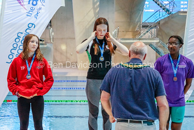 Presentation 2 1905044084 - ASA London Region London Regional Summer Championships 2019 2019 on May 04, 2019 at London Aquatics Centre, Olympic Park, London, E20 2ZQ, London. Photo: Ben Davidson, www.bendavidsonphotography.com
