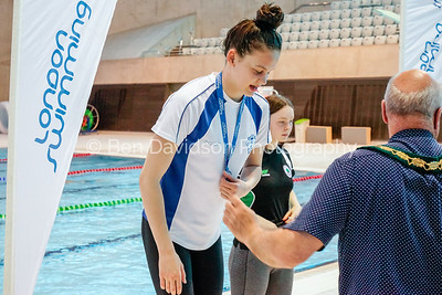 Presentation 2 1905043945 - ASA London Region London Regional Summer Championships 2019 2019 on May 04, 2019 at London Aquatics Centre, Olympic Park, London, E20 2ZQ, London. Photo: Ben Davidson, www.bendavidsonphotography.com