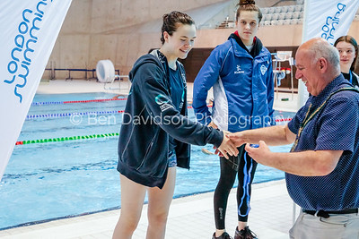 Presentation 2 1905043966 - ASA London Region London Regional Summer Championships 2019 2019 on May 04, 2019 at London Aquatics Centre, Olympic Park, London, E20 2ZQ, London. Photo: Ben Davidson, www.bendavidsonphotography.com