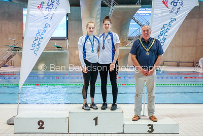 Presentation 2 1905044095 - ASA London Region London Regional Summer Championships 2019 2019 on May 04, 2019 at London Aquatics Centre, Olympic Park, London, E20 2ZQ, London. Photo: Ben Davidson, www.bendavidsonphotography.com